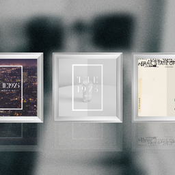 The 1975 - Favorite Albums on Wall - Art