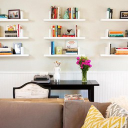 Benefits Of DIY Floating Bookshelves