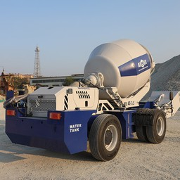 A Review Of The Working Process Of Self-Loading Concrete Mixers