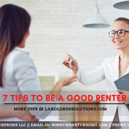 7 Tips to Be a Good Renter