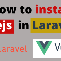 How to install Vue JS in Laravel 7? (2020)