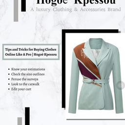 Tips and Tricks for Buying Clothes Online Like A Pro   Hogoè Kpessou