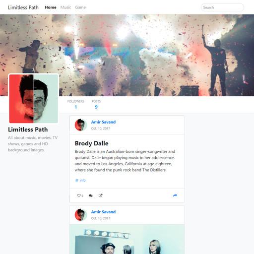 Micro-blog