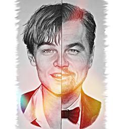Leonardo DiCaprio drawing fanart