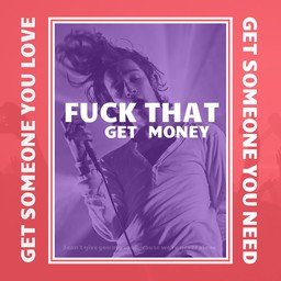 The 1975 - Somebody Else - Cover Image (Get Money)