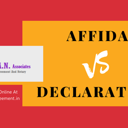 What are the Differences Between an Affidavit and a Declaration?
