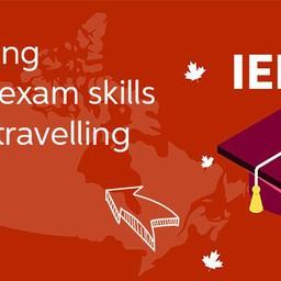 Polishing IELTS Exam skills while travelling