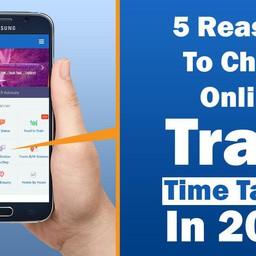5 Reasons to Check Online Train Time Table in 2020