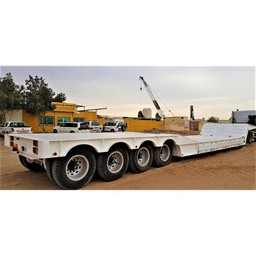 120 Ton 4 Axle Lowbed