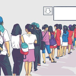 How Does Software Manage the Waiting Queue of Customers?