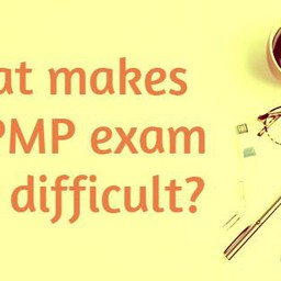 What makes the PMP exam prep difficult?